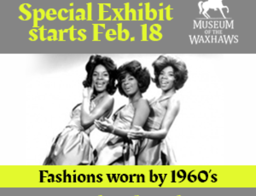 Dresses of 60's Music Greats – Starts Feb. 18